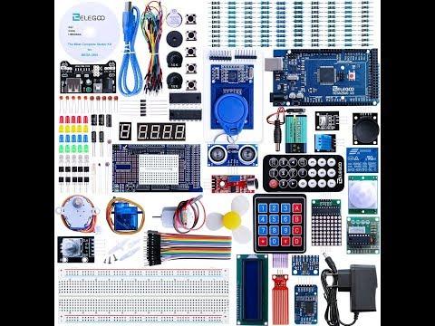 REVISIÓN ELEGOO  KIT Completo y Avanzado de Iniciación a Arduino