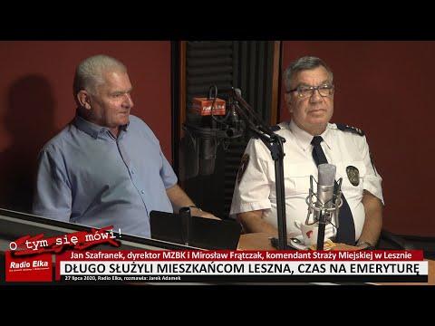 Wideo1: Jan Szafranek i Mirosław Frątczak odchodzą na emeryturę