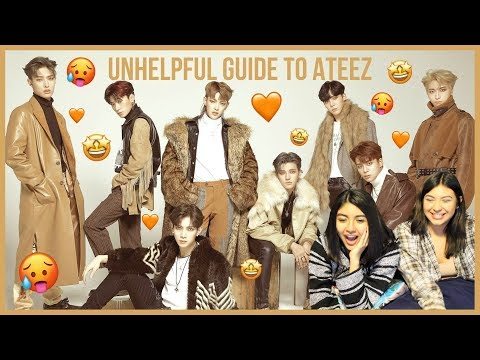 An Unhelpful Guide To Ateez 에이티즈 Reaction 반응 The Plebes