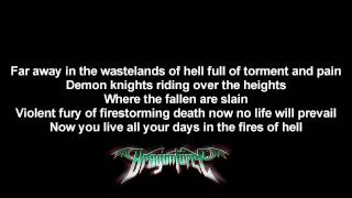 DragonForce - Once In A Lifetime | Lyrics on screen | High Quality Mp3