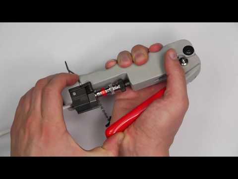 F and BNC compression connectors - installing