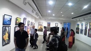 My Art Exhibition For The 1st Time 😍 | Artist Shubham Dogra