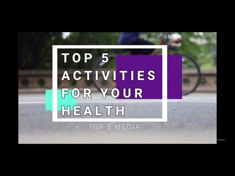 #HEALTH AND #FITNESS : #TOP 5 #BEST #ACTIVITIES FOR #HEALTH (2019) #1