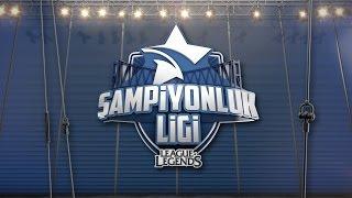 2017 Şampiyonluk Ligi - 1. Hafta 1. Gün: SUP Vs DP | GS Vs CRW | GAL Vs FB