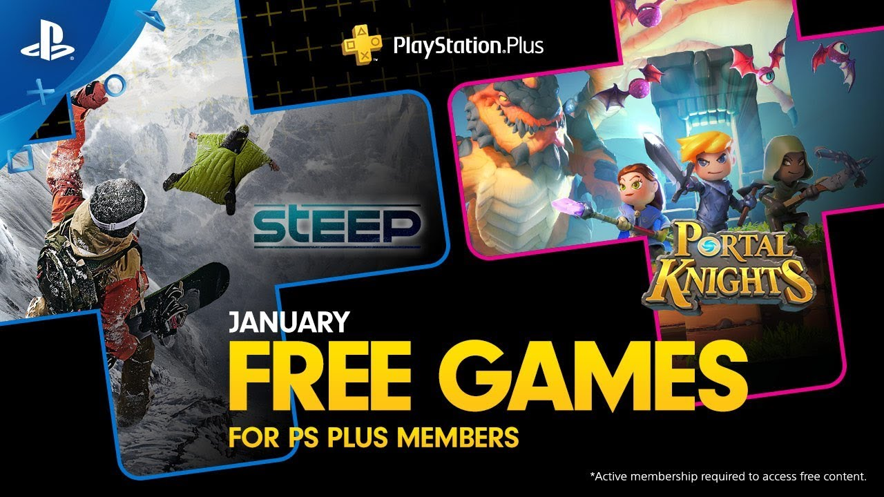 PlayStation Plus: Free Games for January 2019