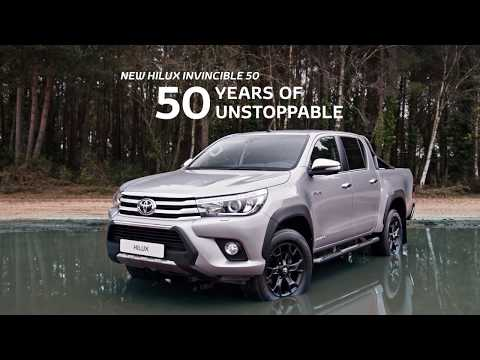 2018 Toyota Hilux Invincible 50 Black Edition