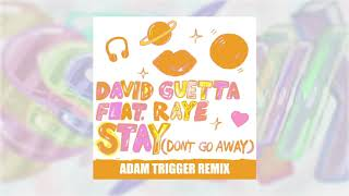 David Guetta   Stay (Don't Go Away) (feat Raye) [Adam Trigger Remix]