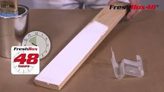 FreshBox48® - die clevere Pausenlösung für Flachpinsel