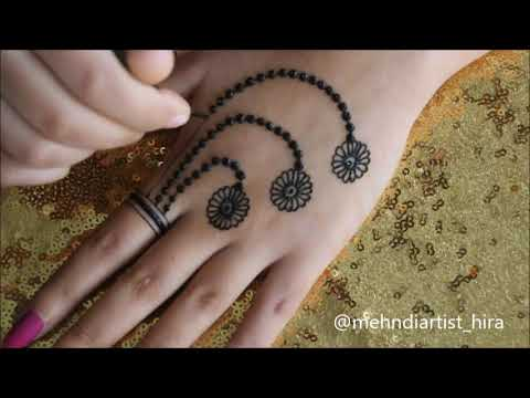Download How To Apply Easy Simple Jewellery Ornamental Henna Mehndi