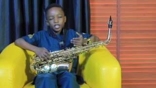 MEET THE YOUNGEST SAXOPHONIST, TEMMYSAX KAYODE
