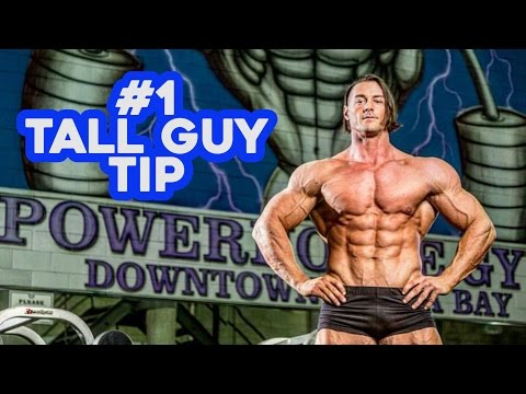 #1 Tall Guy Workout Tip from World's Tallest Bodybuilder Aaron Reed