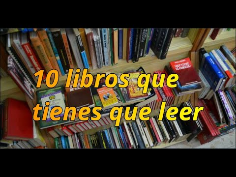 10 libros que tienes que leer si o si