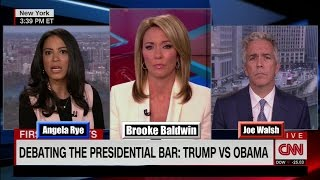 "Leftist Angela Rye to CNN's Brooke Baldwin ""Joe (Walsh) is a Bigot"""