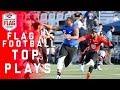 Flag Football Top Plays of the AFFL Quarterfinals   NFL