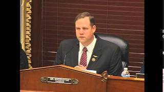 Environment Chairman Bridenstine Speaks on the Nation's Weather Satellite Programs & Policies