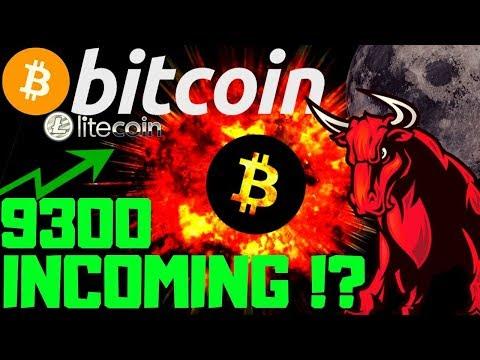 🌟 BITCOIN 9300 NEXT STOP? 🌟bitcoin litecoin price prediction, analysis, news, trading