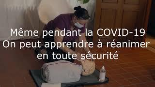 Teaser premiers secours BLS-AED à l'ASBL Liège, Ville Santé
