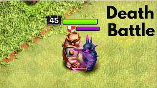 MAX KING vs MAX PEKKA |WHO IS STRONGER🔸Clash of Clans