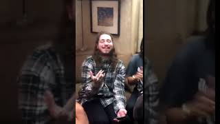 post malone and vic mensa singing hey there delilah together