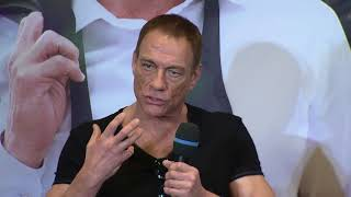 Jean-Claude Van Johnson Paris press conference (official video)