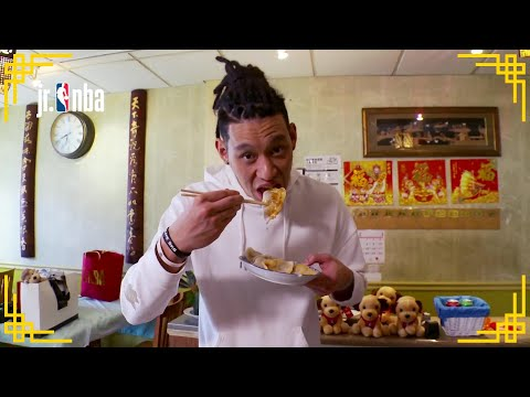 acb0e8481 Jeremy Lin Making Dumplings for Chinese New Year