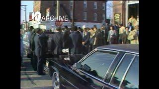 WAVY Archive: 1981 Delegate Doc Robinson Funeral