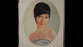Портрет на заказ маслом на холсте от художника Дедык Якова