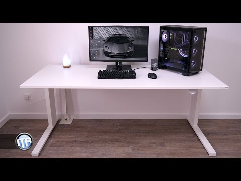 Höhenverstellbarer Schreibtisch - Ergonomisch, schnell, stabil! LEUWICO iMOVE-S