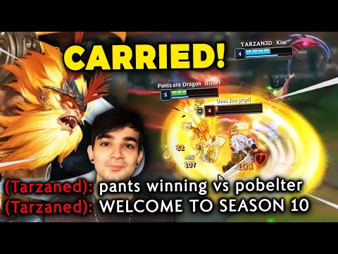 DAY 62 - CARRYING TARZANED & SMASHING POBELTER IN LANE!! 2020 IS THE YEAR OF PANTS