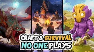 "🔨 Top Ten ""Survival Crafting Games"" That No One Plays 
