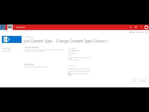 How to create a quiz in Sharepoint - YouTube