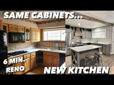 DIY KITCHEN REMODEL | WATCH as we STEP BY STEP  transform our outdated kitchen on a BUDGET!