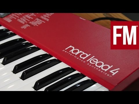Nord Lead 4 - Making a track with the Freemasons