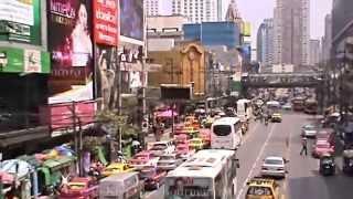 preview picture of video 'Ratchathewi District, Pratunam, Pratunam Market, Phetchaburi road,  Bangkok, Thailand . ( 2 )'
