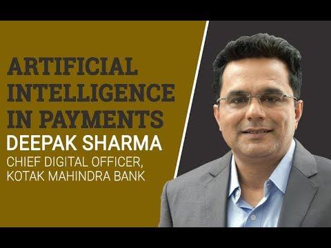 Kotak Mahindra Bank's Deepak Sharma on how AI will impact payments sector