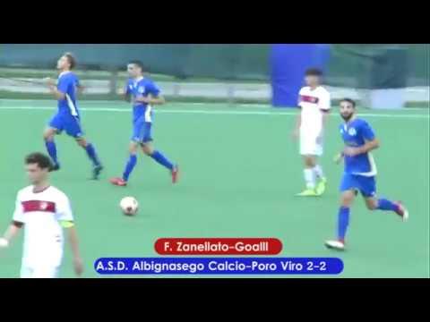 immagine di anteprima del video: Albignasego-Porto Viro 2-3 (21.10.2018)