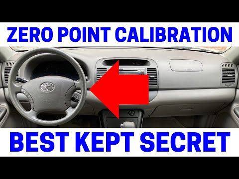 Toyota airbag B1650 Occupant Classification how to reset