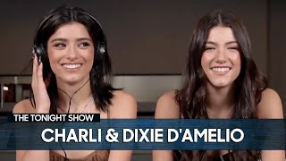 Charli D'Amelio Exposes Dixie D'Amelio for Stealing Their Mom's Car | The Tonight Show