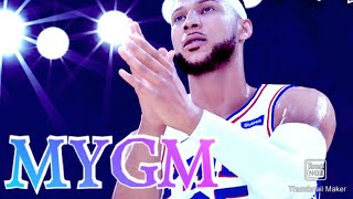 Nba 2k20 MYGM 2.0 TIPS ON HOW TO PLAY  (SUBSTITUTIONS, TRAINING, CUSTOM ROSTERS, AND MORE!!!)
