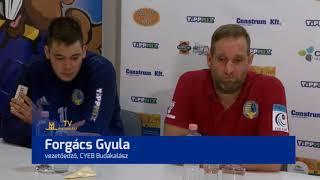 TV Budakalász / Félidő / 2018.02.06.