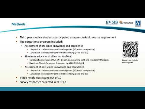 Thumbnail image of video presentation for Video-Based Tracheostomy Care Education for Medical Students