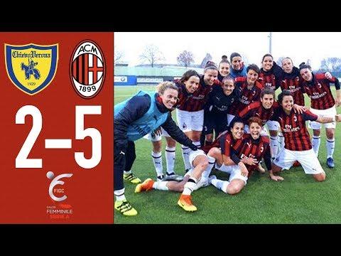Highlights Chievo 2-5 AC Milan - Matchday 11 Women's Serie A 2018/19
