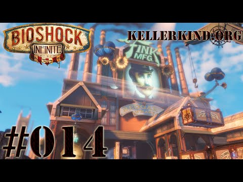 Bioshock Infinite [HD|60FPS] #014 - Bleib stehen! ★ Let's Play Bioshock Infinite