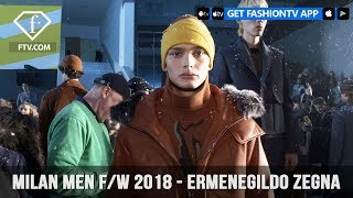 Ermenegildo Zegna Milan Men Fashion Week Fall 2018 Layered In Ideas Collection  | FashionTV | FTV