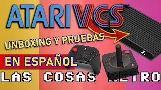 ATARI VCS 800 REVIEW en ESPAÑOL 🕹 ATARI 2020 Mini PC