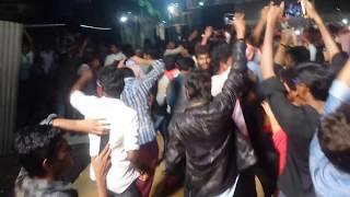 పవన్ కళ్యాణ్ అభిమానుల విధ్వంసం   Pawan Kalyan Fans Attack In 150 Prerelease