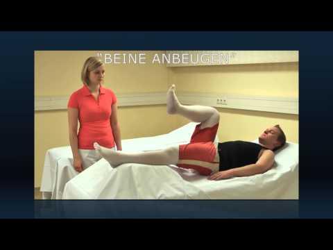 Wie für warikosnymi von den Beinen zu sorgen