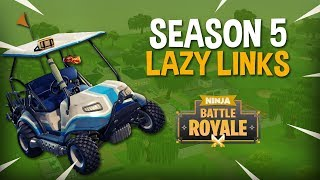 Season 5 Is Out! Landing Lazy Links! - Fortnite Battle Royale Gameplay - Ninja