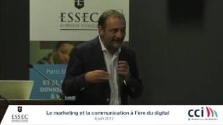 Vidéo de la conférence sur le marketing digital