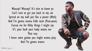 Jason Derulo   Mamacita (Lyrics) Feat. Farruko